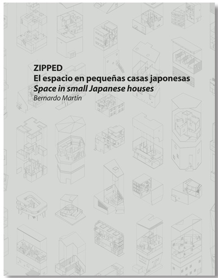 スペインの雑誌「ZIPPED – El espacio en pequeñas casas japonesas」に掲載されました