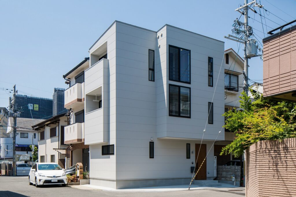 長岡京市の家