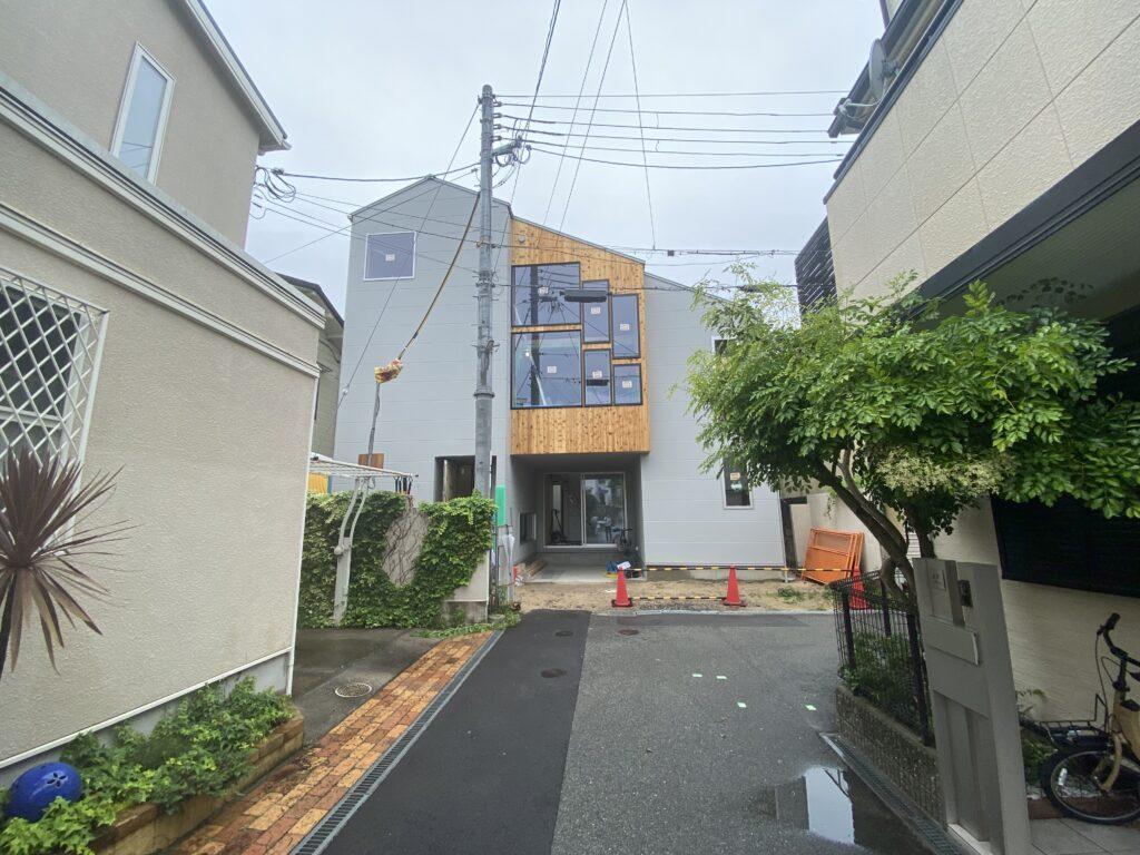 兵庫県 西宮市『大井手町の家』完全予約制の完成見学会を行います。