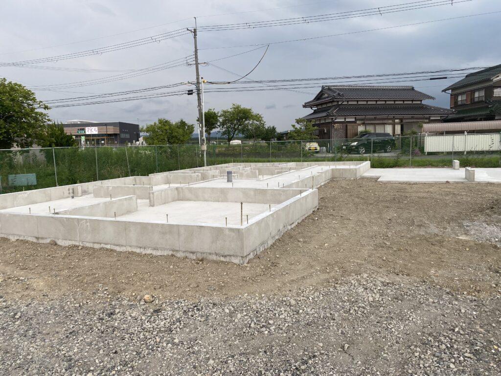 東近江の家 基礎が完成しました。