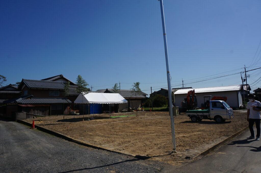 『杣中の家』の地鎮祭を行いました。